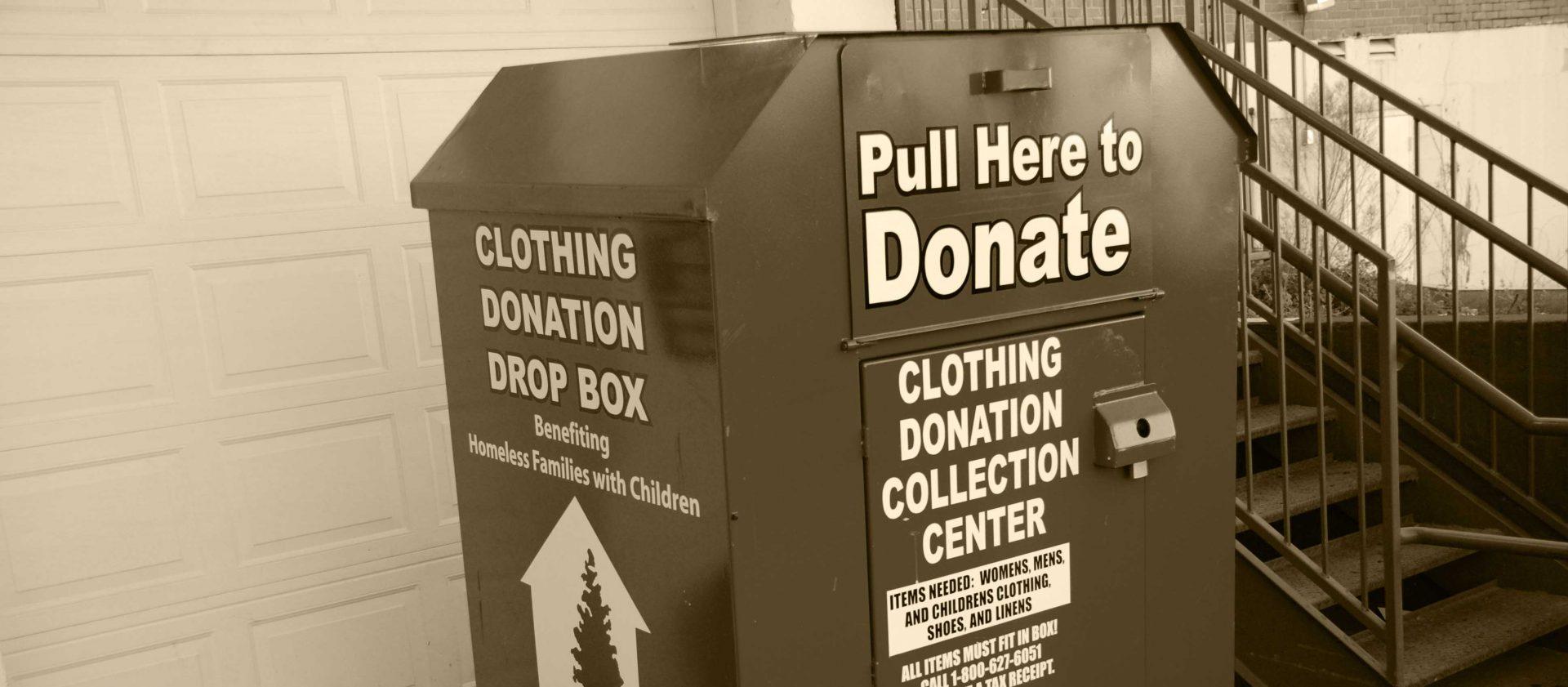 Donation Box Locations - Providence House